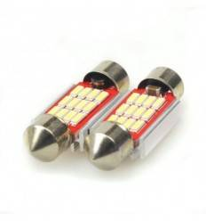 Bec led C5W cu 12 SMD 4014 Can-Bus