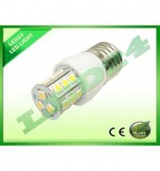BEC ECONOMIC E27 21 LED-URI SMD 5050, 3.5W, ALB CALD 3000k