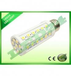 BEC ECONOMIC E27 44 8W LED-URI SMD 5050 ALB CALD 3000k