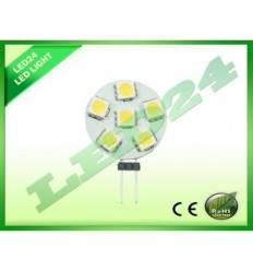 BEC ECONOMIC G4 6 LED-URI SMD, 1.2w, 5050 ALB CALD 3000k