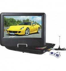 DVD Player Portabil 9.5 Inch PNI NS969 cu Tuner TV, Radio, Slot USB, Card SD si Jocuri