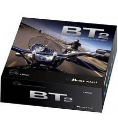 Sistem de comunicare moto Midland BT2 Intercom Single Cod C876