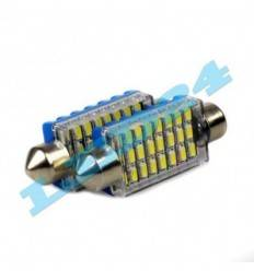 C5W cu 24 SMD 3014 can-bus
