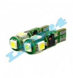Bec led W5W 5050 CAN-BUS 9-32V