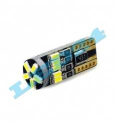 Bec led w5w 15 SMD 4014 can-bus