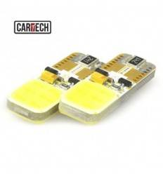 Bec led W5W cu 2 SMD COB Can-bus