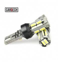 Bec led w5w cu 18 SMD 4014 Can-bus