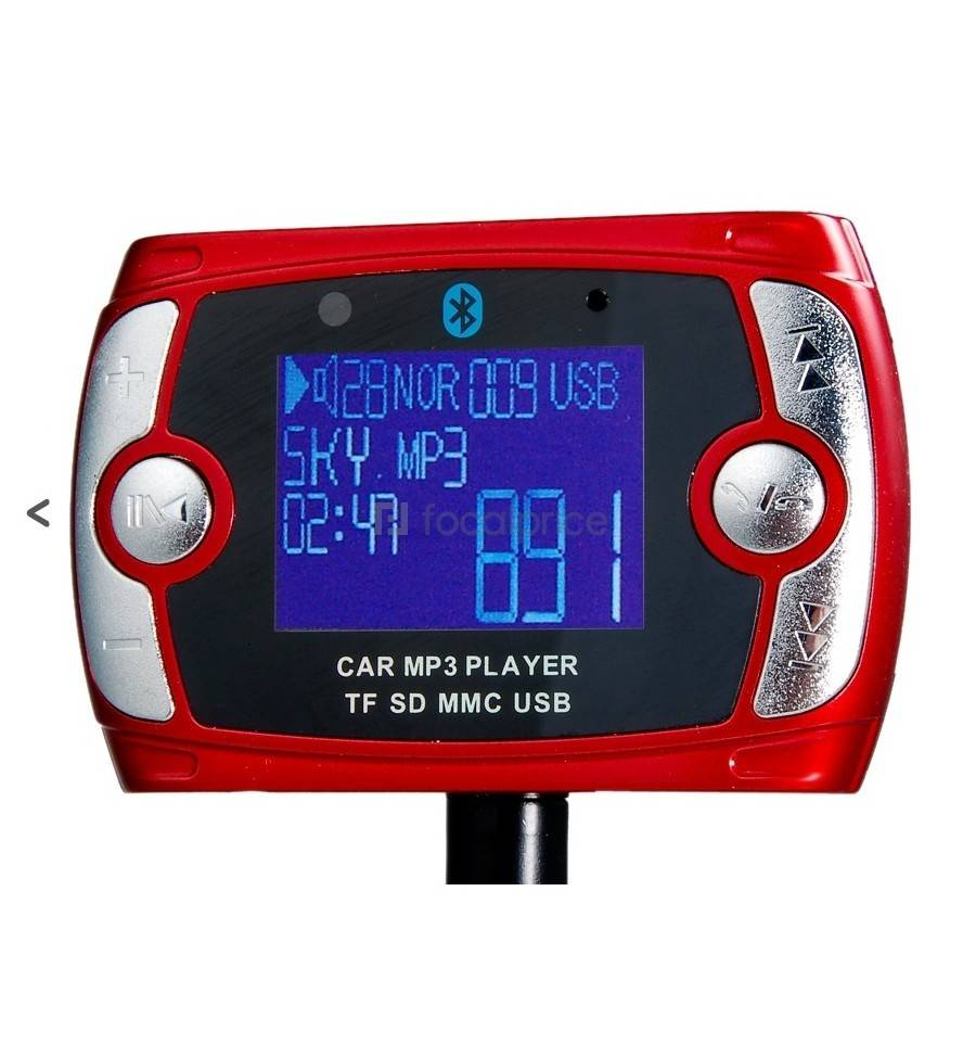 car kit bluetooth cu mp3 player ck003 led24. Black Bedroom Furniture Sets. Home Design Ideas