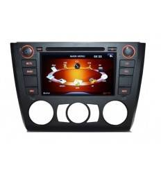 Sistem de navigatie DVD + TV analogic pt BMW E81/E82/E87/E88 seria 1 model PNI 9205 clima manuala