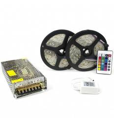 Kit complet 10m band RGB 60SMD 5050/m
