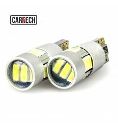 Bec led W5W cu 15 SMD 4014 Can-Bus