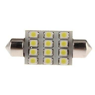 LED C5W cu 16 SMD Festoon (Sofit) 36mm 5050