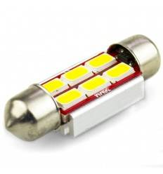Bec led C5W 6 SMD 5630 Can-Bus