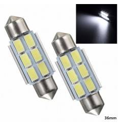 C5W 6 SMD 5630 Can-Bus