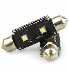 Bec led C5W 2 SMD CREE Can-Bus