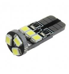 Bec LED T10 9SMD 2835 Can-Bus
