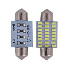 Bec LED C5W 24SMD 4014 36mm
