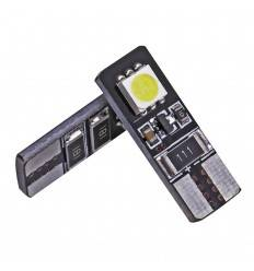 Bec LED T10 2SMD 5050 Can-Bus