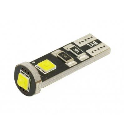 Bec LED T10 3SMD 5050 Can-Bus