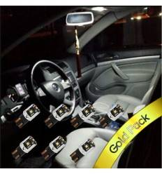Pachet Led Interior Skoda Octavia 3 - Gold