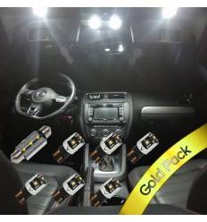 Pachet Led Interior VW Golf 6 - Gold