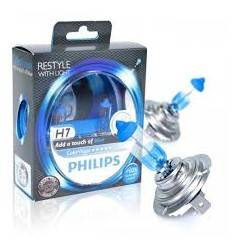 Set becuri H7 Philips Color Vision Blue
