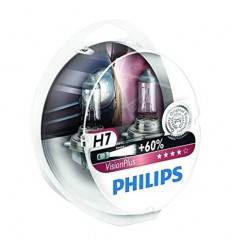 Set becuri Philips H7 Vision Plus 60%