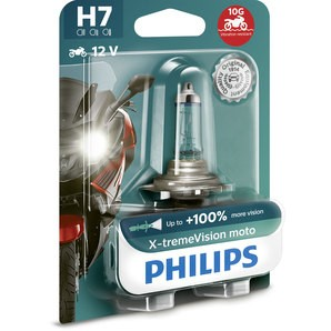 Bec H7 moto Philips X-treme Vision Plus