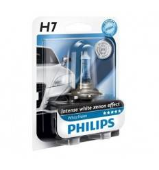 Set becuri H7 White Vision Philips