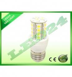 BEC ECONOMIC E27 27 LED-URI SMD 5050, 4.5W, ALB CALD 3000K,