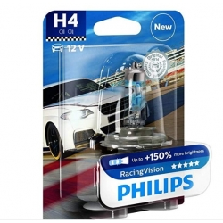 Bec H4 Philips Racing Vision 150% 12342RVB1