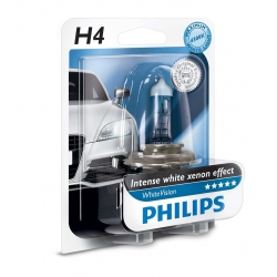 Bec H4 White Vision Philips 12342WHVB1