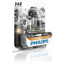 Bec H4 moto Philips City Vision 12342CTVBW