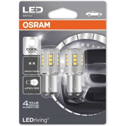 Set becuri LED P21W/5E Osram Cool White 1457CW-02B