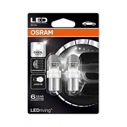 Set becuri LED P21W Osram Cool White 7556CW-02B