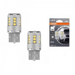 Set becuri LED W21/5W Osram Cool White 7715CW-02B