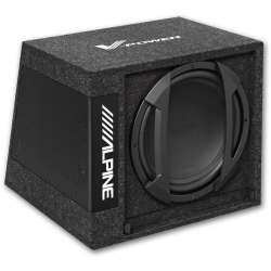 Subwoofer amplificat in incinta SWE-1244W Alpine