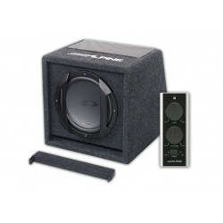 "Subwoofer amplificat in incinta bass reflex 8"" SWE-815 Alpine"