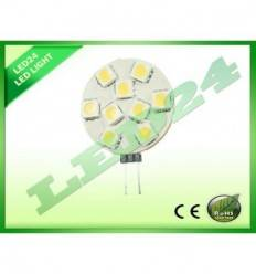 BEC ECONOMIC G4 9 LED-URI SMD, 1.8W, 5050 ALB CALD 3000k,